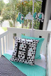 Triangle Geometric & Chevron Comforter Set - PREMIUM