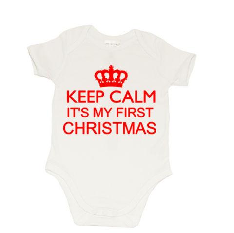 Christmas Romper - Keep Calm