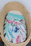 Pram/Bassinet  Blanket - Dreamcatcher full print
