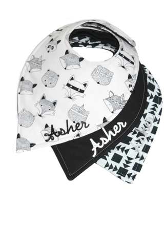 Black and White Bibs