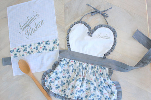 Apron & Tea Towel Set