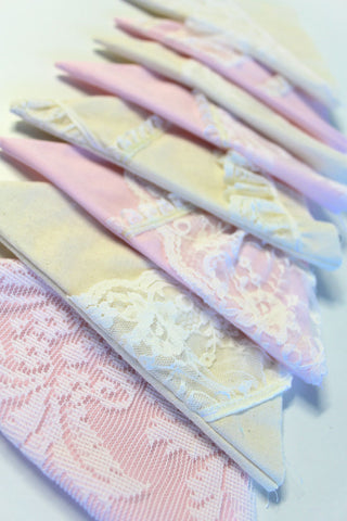 Personalised Bunting - Lace
