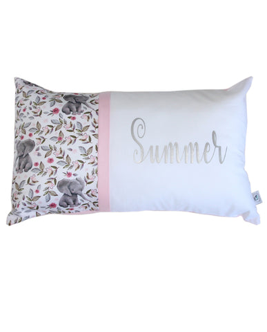 Personalised Cushion - Summer Elephant
