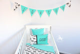 Mint Stag Comforter Set