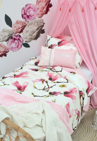 Magnolia-Bed Set