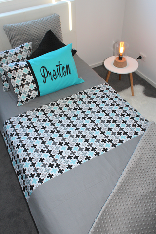 Plus Cross Geometric - Bed Set