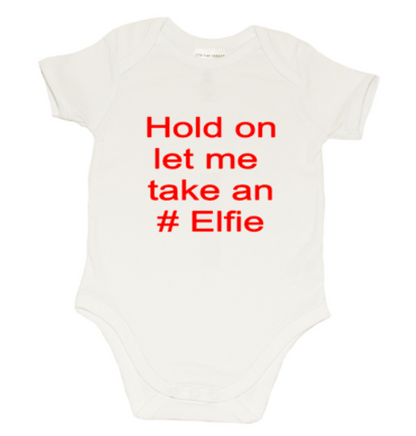 Christmas Romper - Let Me Take an #Elfie