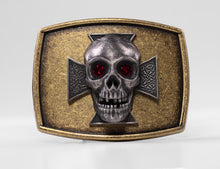 Load image into Gallery viewer, S-009B Skull and Ironcross *