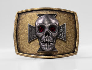 S-007B Skull and Ironcross
