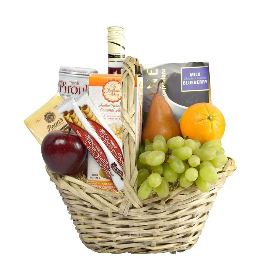 """Back From the Market"" Kosher Gift Basket New York Flower Delivery. """