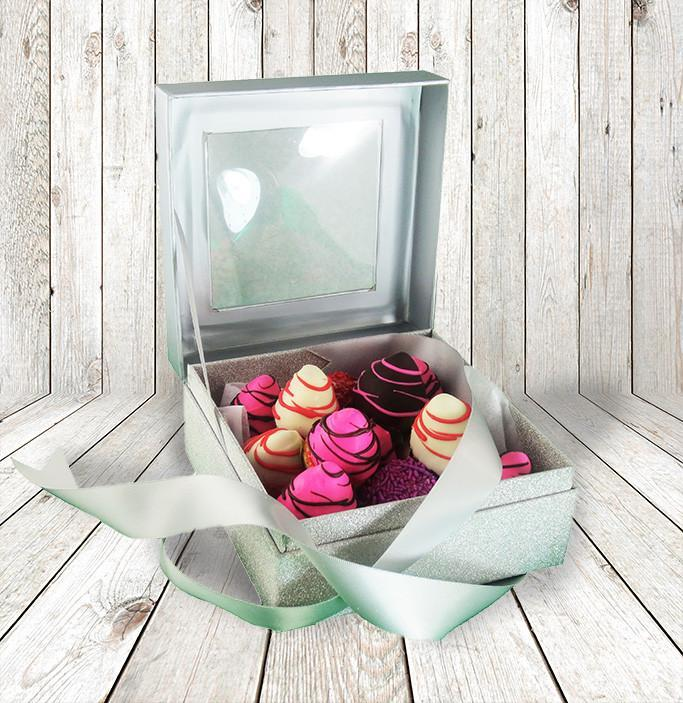 Colourful Chocolate Dipped Strawberries In An Elegant Gift Box New York Blooms