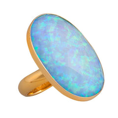 Alchemia Synthetic Opal Ring