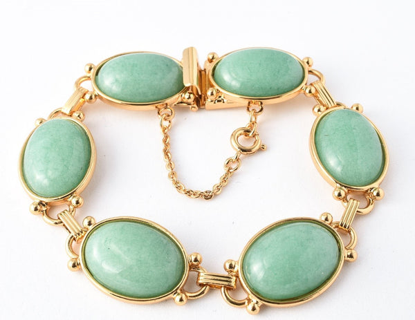 Large Eyelet Classic Bracelet - Pacific Opal