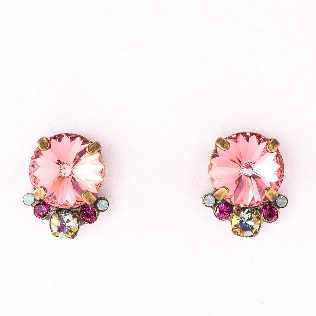 Regal Rounds Earring