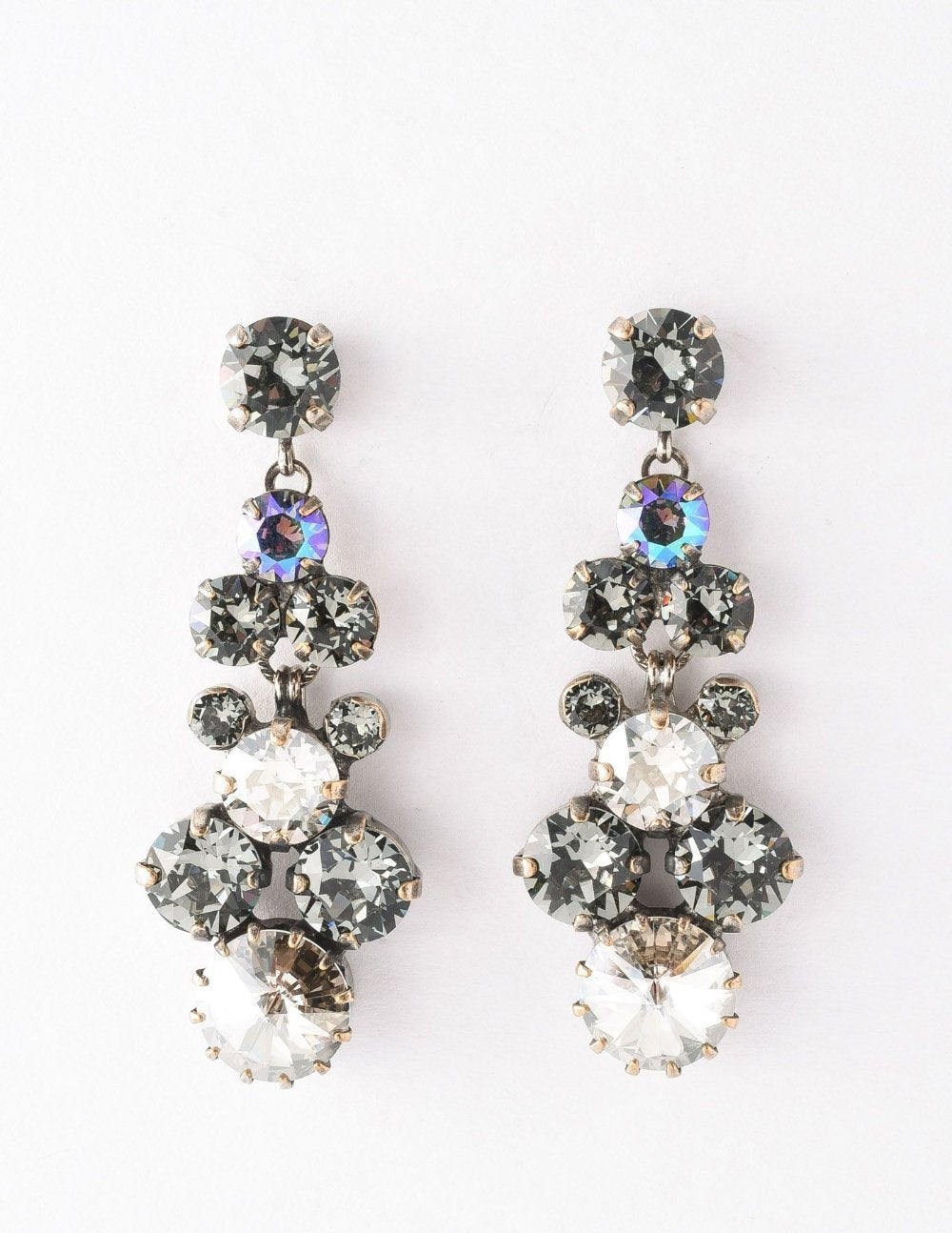 Well-Rounded Crystal Drop Earring Crystal Rock
