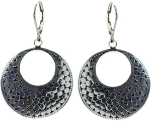 Kala Large Disc Earrings