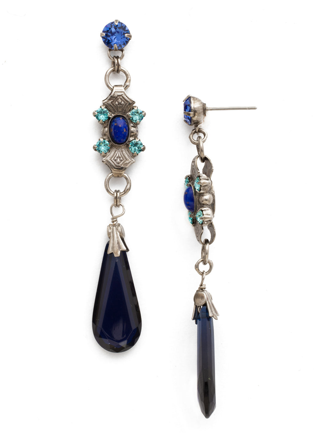 Empress Jewel Drop Earring
