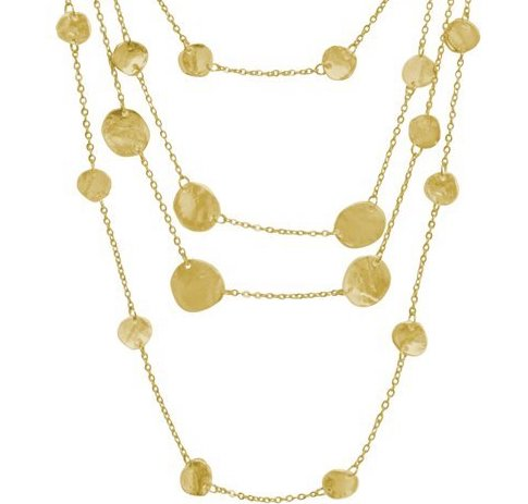 Manon Layered Necklace In Gold