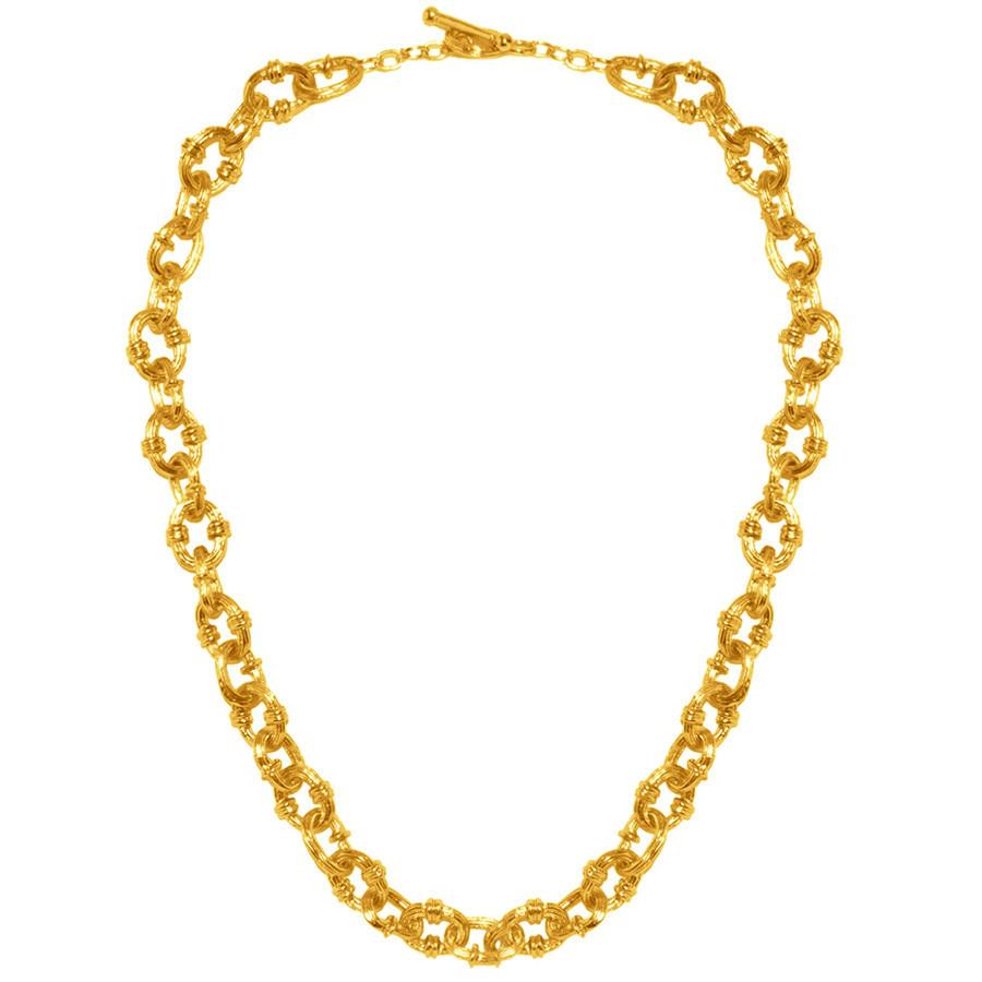 Bonny Collar Chain Necklace In Gold