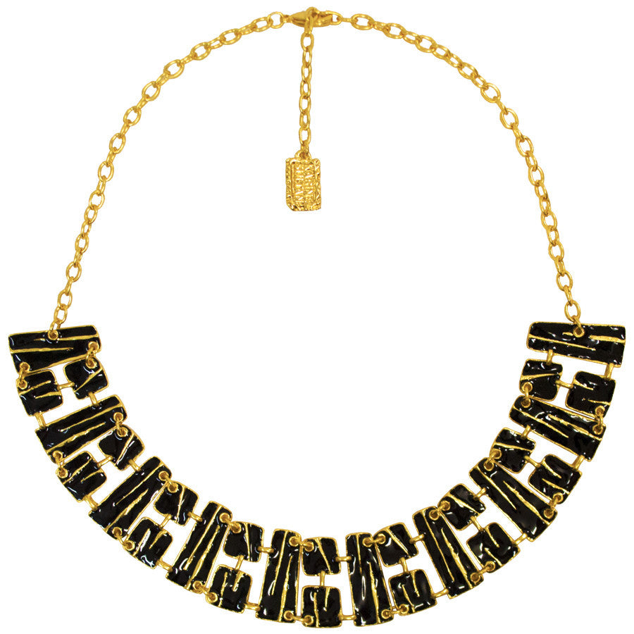 Louisy Collar Necklace in Gold