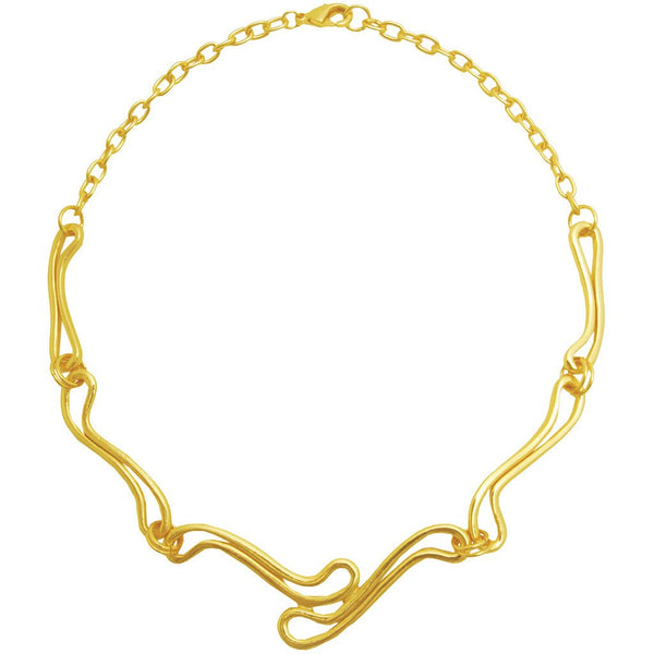 Biarritz Gold Links Necklace