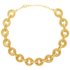 Lily Collard Necklace In Gold