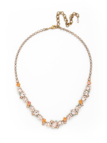 Apricot Agate Sophisticate Necklace