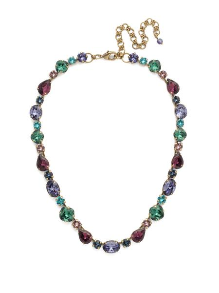 Narcissus Necklace Jewel Tone