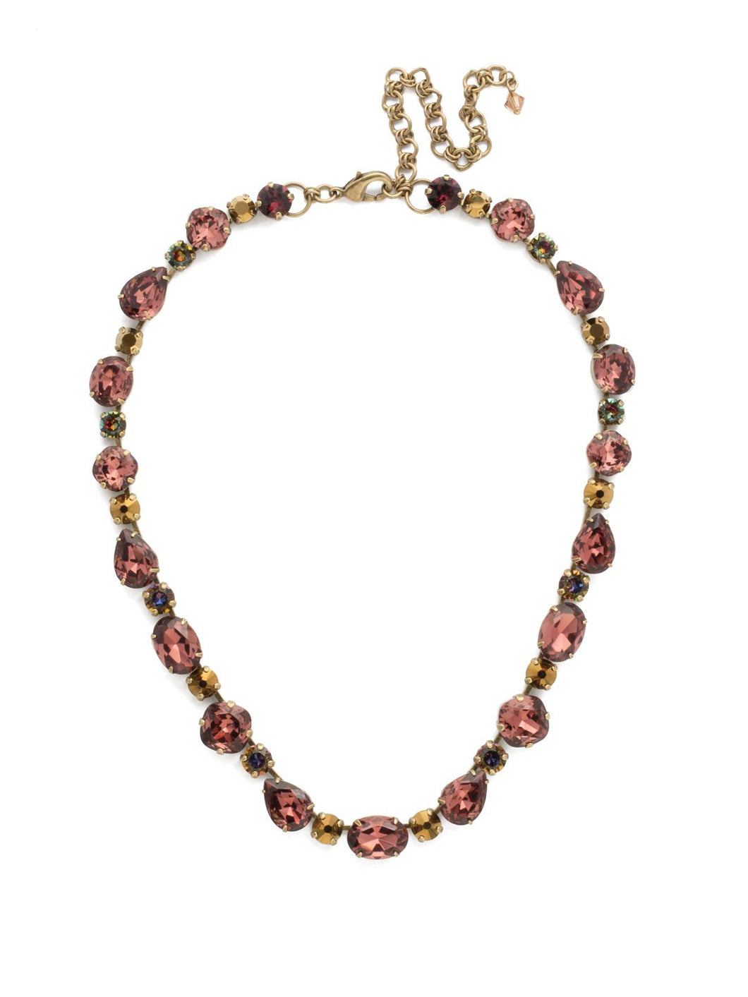Narcissus Necklace Mahogany