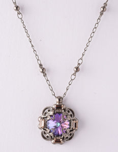 Allium Lilac Necklace
