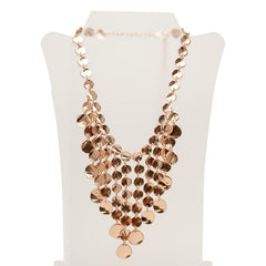 Rose Gold Medallion Necklace