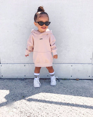 adorable pretty little girl style streetwear hoodie hoody dress swag urban style