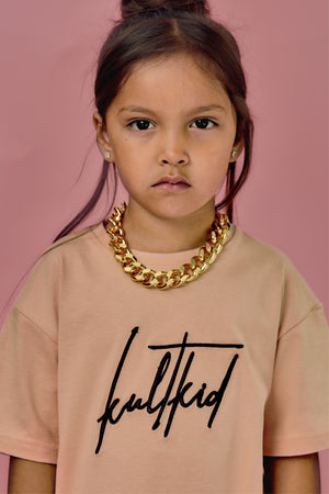 big chunky chain gold necklace for kids