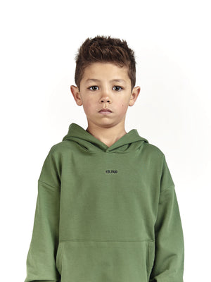 Oversized green tracksuit for kids and children