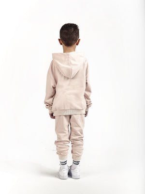 kids boys little infant baby  premium streetwear stylish loungewear co-ord set matchingOversized Hoodie & Tapered Skinny Joggers in Himalaya - KULTKID