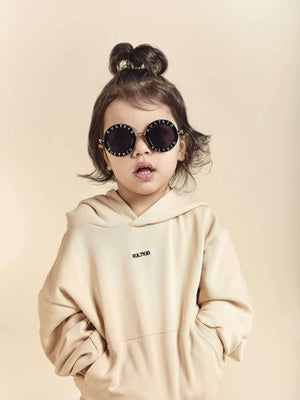 kids baby fashion on trend designer branded summer Logo Sunglasses - KULTKID