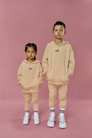 coolest yeezy style  oversized sweatsuit for little boys and girls