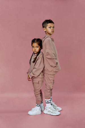 super on trend oversized yeezy style luxury tracksuits for boys and girls