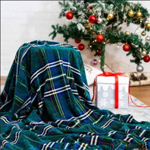 Bedsure Christmas Plaid Blanket