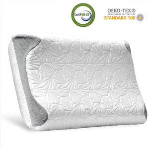 Bedsure Double-Sided Cervical Pillow Relieves Neck Pain for all Sleeper Types