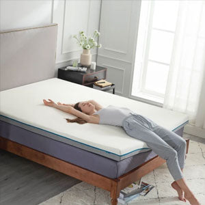 Memory Foam Spring Mattress Topper