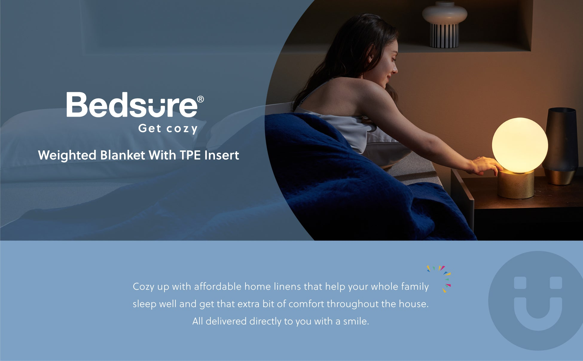 Bedsure | TPE Weighted Blanket - No Glass Beads Heavy Blanket with Breathable TPE Insert 1