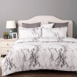 Printed Duvet Cover Mable Pattern-bedsuredesigns