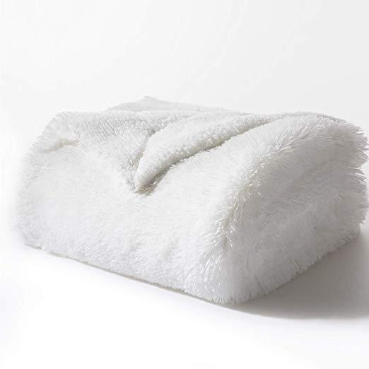 Faux Fur Fleece Blanket