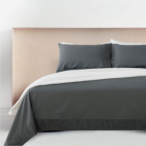 Ruffled Embossed Bed Sheet Set