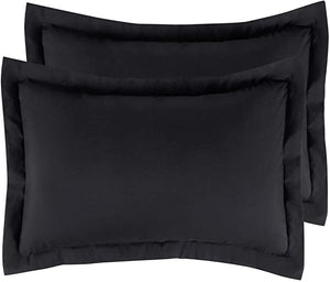Bedsure Brushed Microfiber Pillow Shams Set of 2 - Super Soft and Cozy