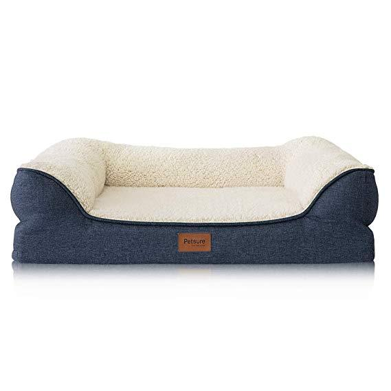 Petsure Orthopedic Sofa Dog & Cat Bed