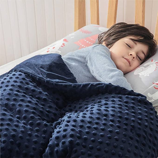Bedsure Weighted Blanket for Children with Removable Washable Cover