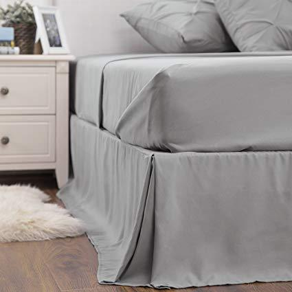 details of the Bedsure 6 Piece Pinch Pleat Down Alternative Comforter Set