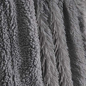 Plush Faux Fur Tie-dye Fleece Blanket